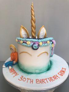 30th Unicorn Cake